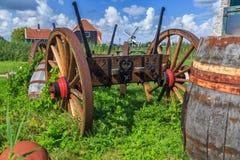 gammal vagn Arkivbild