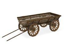 gammal vagn stock illustrationer