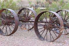 gammal vagn Royaltyfri Fotografi