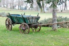 gammal vagn Royaltyfria Bilder