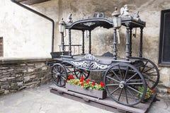 gammal vagn Royaltyfria Foton