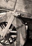 gammal vagn för vagn Arkivbild