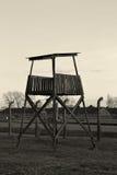 Gammal vakt Tower Arkivbild