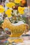 gammal vase Arkivbild