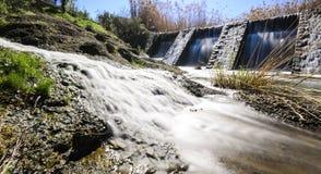 Gammal vattenbehållare Royaltyfria Bilder
