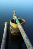 gammal vattenwell Fotografering för Bildbyråer