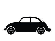 gammal vektor för bil Arkivbild