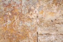 Gammal väggtextur Royaltyfria Foton
