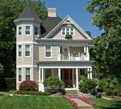 gammal victorian för hus