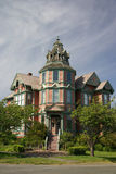 gammal victorian för hus Arkivbilder