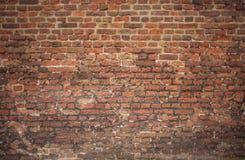 gammal victorianvägg för tegelsten Royaltyfri Fotografi