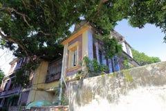 Gammal villa i gulangyu fotografering för bildbyråer