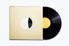 gammal vinyl Arkivfoto