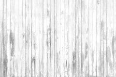 Gammal vit grå wood textur och bakgrund i tappning tonar arkivfoto