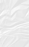 Gammal vit skrynkligt pappers- Royaltyfri Fotografi