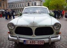 Gammal Volvo amason arkivfoton