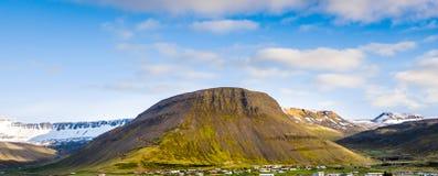 gammal vulkan Arkivfoton