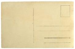 Gammal vykortgrungebakgrund Arkivbild