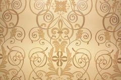 gammal wallpaper Royaltyfria Bilder