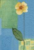 gammal wallpaper för element Royaltyfri Bild