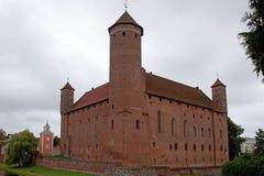 gammal warminski för slottlidzbark poland Arkivfoton