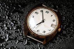 gammal watch Fotografering för Bildbyråer