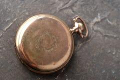 gammal watch för guld Royaltyfri Foto
