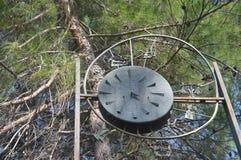 gammal watch för metall Royaltyfri Bild
