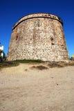 Gammal watchtower, Marbessa Fotografering för Bildbyråer