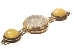 gammal watchwrist Royaltyfri Fotografi