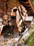 Gammal watermill Royaltyfri Foto