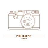 gammal white för bakgrundskamera Royaltyfri Fotografi
