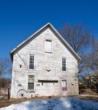gammal white för hus Fotografering för Bildbyråer