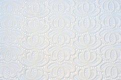 Gammal white snör åt på den vita bakgrunden Royaltyfria Bilder