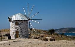 gammal windmill arkivbild