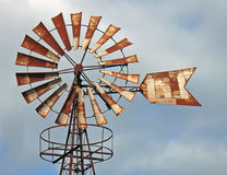 gammal windmill 2 arkivbild