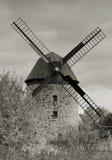 gammal windmill Royaltyfria Bilder