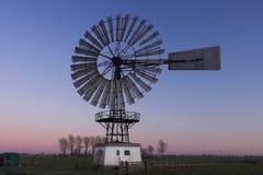 gammal windmill Royaltyfri Foto
