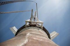 gammal windmill Fotografering för Bildbyråer