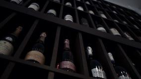 gammal wine för källare lager videofilmer