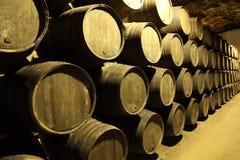 gammal wine för källare Fotografering för Bildbyråer
