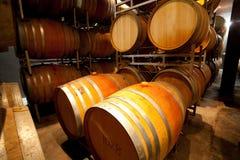 gammal wine för källare Arkivbild
