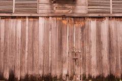 Gammal wood bakgrund för tappning Royaltyfri Bild
