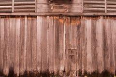 Gammal wood bakgrund för tappning Arkivfoto