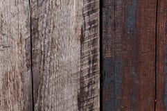 Gammal wood bakgrund för två färg Arkivfoto