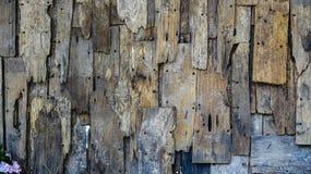 Gammal wood bakgrundslodlinje Royaltyfri Fotografi
