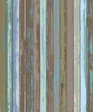 Gammal Wood bakgrundstextur för färg Arkivfoton