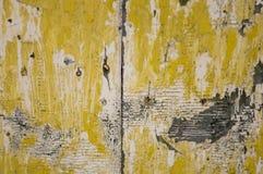 Gammal wood dörr fotografering för bildbyråer