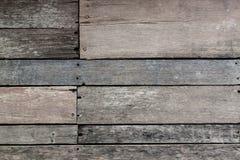 Gammal wood linje textur Royaltyfria Foton