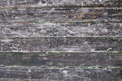 Gammal wood mörk bakgrundstextur Royaltyfri Fotografi